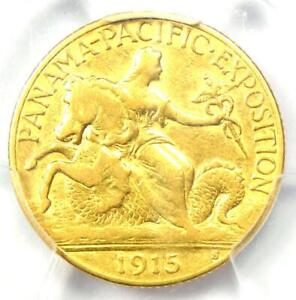 1915-S Panama Pacific Gold Quarter Eagle $2.50 Coin - Certified PCGS XF40 (EF40)