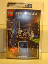 Lego 2005 STAR WARS Tie Fighter #7263 GRADED AFA 8.50 NEW