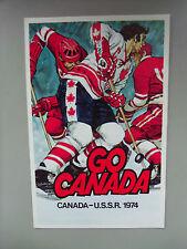 1974-CANADA vs USSR SERIES-Scotia Bank (RARE) color POSTCARD.