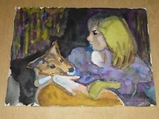 ARTS XX° / RUSZKOWSKI Zdzislaw (1907-1990) OEUVRE ORIGINALE 1964 Pologne UK