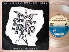 "The Michael Schenker Group Ready To Rock CLEAR UK 7"" UFO Chrysalis 1981 NM"