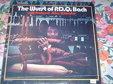 The Wurst of P.D.Q. Bach with Professor Peter Schickele 2 LP Vanguard 719