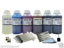 6X250ml/s Refill ink kit for Kodak 10 :EasyShare 5100 5300 5500 printer + 2Chips