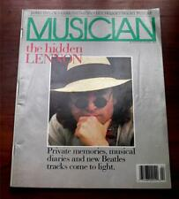 Musician Magazine  April 1988  John Lennon Cover Story The Beatles James Taylor