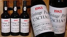 1983er Vintage Port - Caves Messias - Quinta do Cachao *****