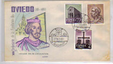Spain - Founding of Oviedo - FDC 1961 - Alonso Cachet