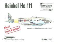 WAFFEN ARSENAL HEINKEL He111 IN ACTION WW2 GERMAN LUFTWAFFE KG BOMBER BoB EASTER
