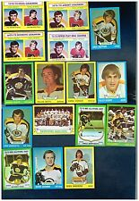 1973-74 Topps Hockey complete or partial team sets  Your Choice!
