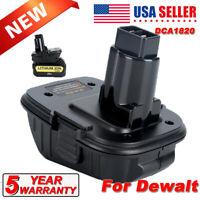 For Dewalt 18V tool DCA1820 Convertor 20Volt Max Li-Ion Battery Adapter DC9096-2
