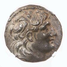Seleucid Kingdom Antiochus Vii, 138-129BC AR Tetradrachm Athena Nike NGC AU