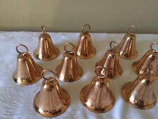"Good Directions 10 Small Copper Bell Shapes 2.5""- Handyman Project/Bits & Pieces"