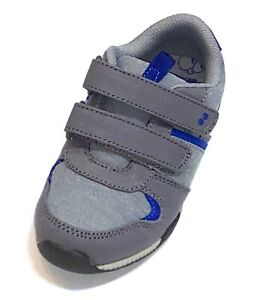 Surprize by Stride Rite Memory Foam Toddler Baby Boys Gray Sneakers Shoes Size 5