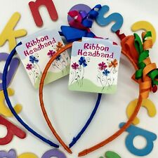 Happy Spirit Headbands (PACK of 10) 2 colors combos Party Favors Dance Troops