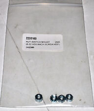 OEM Minn Kota NUT-SWITCH MOUNT Part# 2233100 (2 per order)