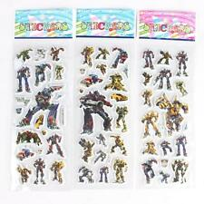 10 x TRANSFORMER PUFFY Stickers Party Bag Fillers Birthday party favours, games