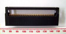 Conector de borde de tarjeta de 50 vías 2 filas de inclinación y plomo espaciado 2.54mm Economy versión