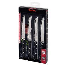 Tefal Steakmesser 12,5 cm, 4 er Set Messerset Fleischmesser Messer BBQ Steak NEU