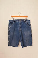Vintage Wrangler Short Jeans Bleu Moyen (W36)