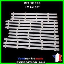 """Bande Rampe Barrette strip LED LG 47"""" 47LN5400 6916L 1174A 1175A 1176A 1177A"""