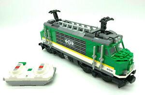 Lego® Eisenbahn Lokomotive 60198 - inkl Power Up Bluetooth Motor + Bauanleitung