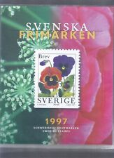 SWEDEN YEAR 1997 COMPLETE MNH