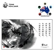 Timewalker Play Mat PlayMat Chinese Guan Yu MTG Magic Pokemon Yugioh Card Sports
