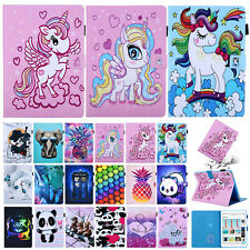 """For iPad 10.2"""" 7th 2019/Air 3/9.7"""" 2018 6th/Mini 5 Smart Leather Flip Case Cover"""