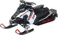 POLARIS SNOWMOBILE WHITE SWITCHBACK PRO-X 800 NEW-RAY TOY 57783A