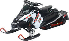POLARIS SNOWMOBILE WHITE SWITCHBACK PRO-X 800 NEW-RAY TOY 57783A