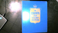 WORLDWIDE COLLECTION IN CROWN ALBUM, COUNTRIES B-H, MINT/USED