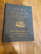 RARE ANTIQUE 1928 HOME BUILDERS CATALOG HARD COVER EXCELLENT!  Port Jefferson LI
