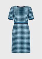 BNWT Hobbs Elodie Wool Dress in Kingfisher Blue Size 10 RRP £169