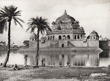 1928 Original INDIA Sasaram Architecture Sher Shah Tomb Photo Art By HURLIMANN