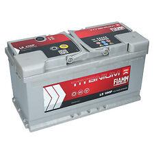 Autobatterie FIAMM TITANIUM PRO 12V 100Ah 870A/EN TOP ANGEBOT SOFORT & NEU