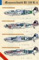 Eduard Decals Messerschmitt Me Bf 109K-4 JG27/52/53/3 1945 - 1:48 Modell-Bausatz