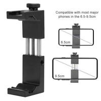 Ulanzi ST-02S Tripod Phone Clip Holder with Cold Shoe for 6.5-9.5cm Smartphone
