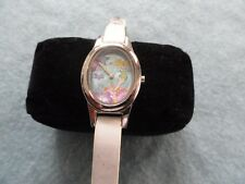 """Tinkerbell """"Tink"""" Quartz Watch with a white band"""
