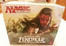 Still sealed MTG Battle for Zendikar FAT PACK 9 Booster Packs NIB