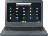 "2019 Samsung 11.6"" Chromebook Intel Atom x5 with 2GB Memory 16GB Night Charcoal"