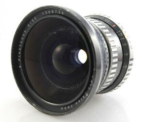 Carl Zeiss Flektogon 50mm F4 Lens for Pentacon Six and Kiev 6 Cameras.