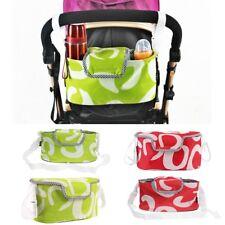 Organizer per passeggino bambini borsa tracolla colore rosso o verde