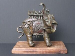 Antique Elephant Bronze, China