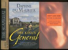 LOT OF THREE  DAPHNE DU MAURIER THE KING'S GENERAL, THE SCAPEGOAT DON'T LOOK NOW