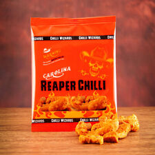 Carolina Reaper, Pork Scratchings. Extreme Heat. Worlds Hottest
