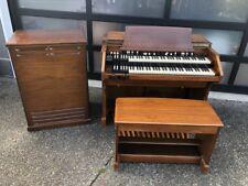 Hammond C2 Organ & Leslie 147 Speaker - worldwide shipping! C3 Trek II Serviced