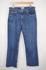 Zara WOMAN COLLECTION Premium Boyfriend largo orlo Consumato Jeans EU 40 Stati Uniti 8