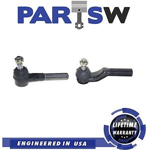 2 Pc New Front Steering Kit for Ford E-150 E-250 E-350 E-450 Outer Tie Rod Ends