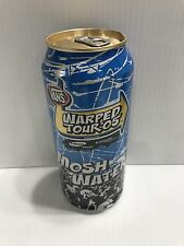 Monster Vans Warped Tour Water From 2005 Very Rare Full Collectors Can. Dented**
