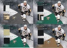 2010/11 UD ARTIFACTS SET PATCH TAG JERSEY SIDNEY CROSBY 2/5,15/15,20/25,5/5