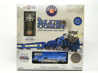 LIONEL LIONCHIEF O GAUGE BLUE COMET TRAIN SET BLUETOOTH STEAM 4-4-2 1923070 NEW